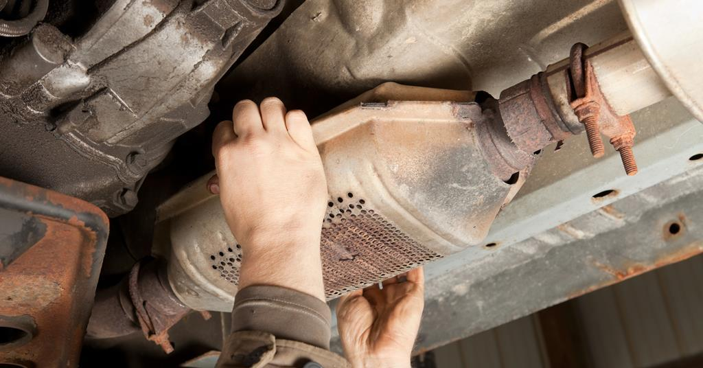Catalytic converter theft on rise as rhodium prices soar ...