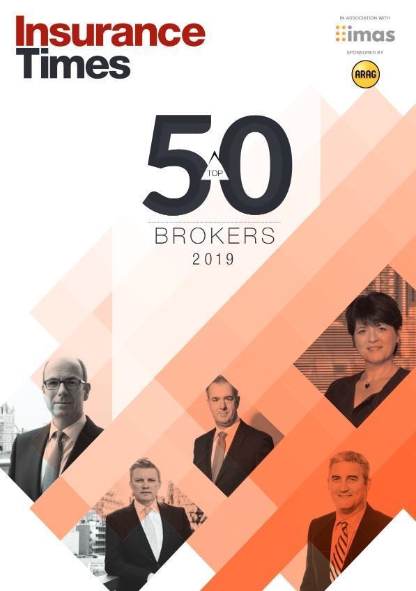 Top 50 Brokers 2019 digital edition   Latest News