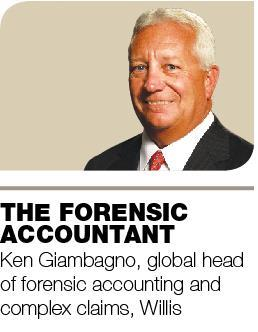 Ken Giambagno, global head of forensic accounting and complex claims, Willis