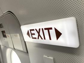 exit plane