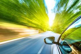 I stock car speeding