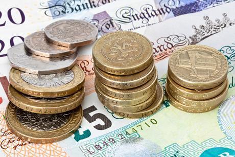 I stock money pounds