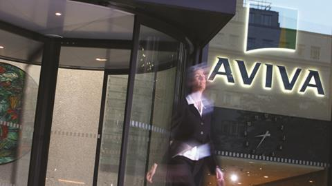 Aviva lobby