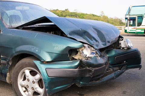 New car crash
