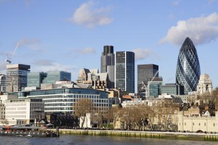 London 1 gherkin City