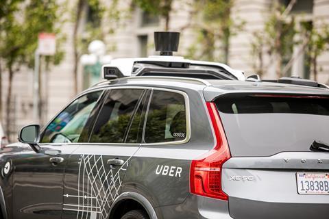 I stock 684693616 uber driverless car