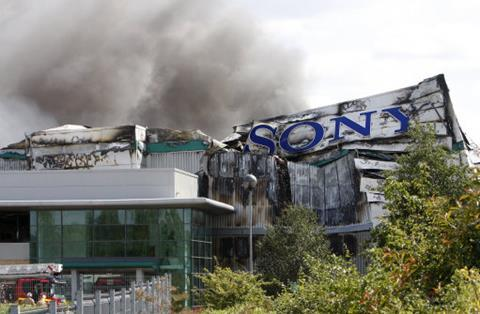 sony centre enfield after riots