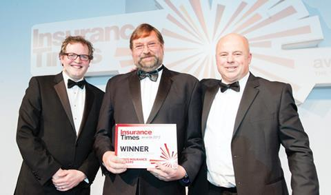 IT Awards 2012, Independent Regional Broker of the Year, Winner, Higos Insurance Brokers