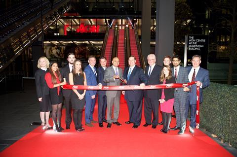 Aon hq ribbon cutting leadenhall (2)