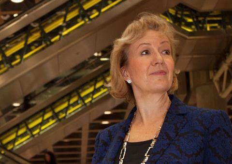 Andrea Leadsom at Lloyd's