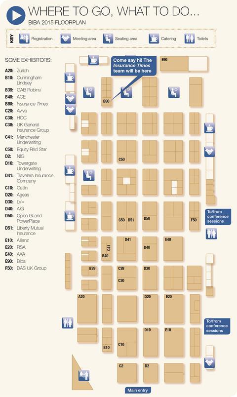 biba floor plan