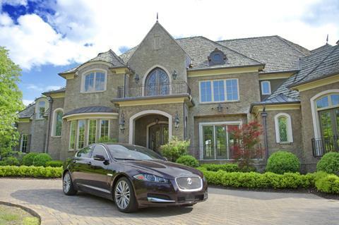 high net worth mansion