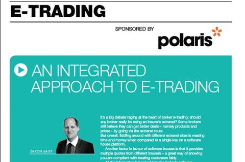 Polaris imarket integrated e-trading