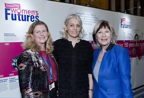 Sian fisher jude kelly jane portas at iwf report launch 230118