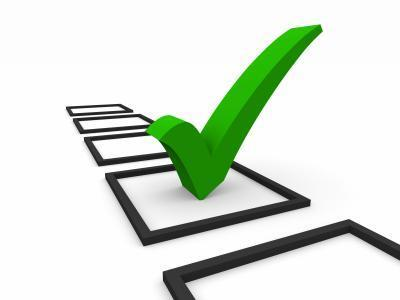 survey tick mark
