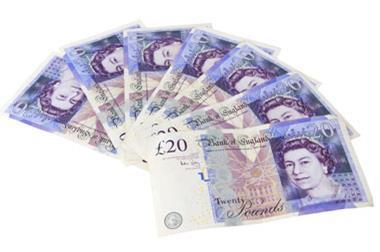 20 pound notes