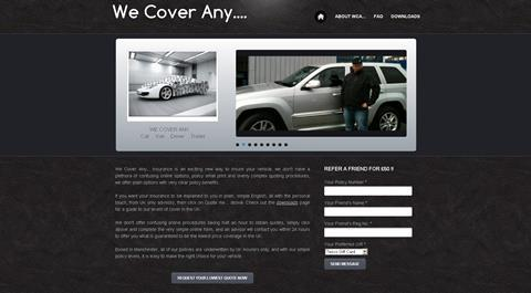 Personal Touch Insurance website