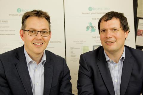 konsileo founders john warburton and peter henderson