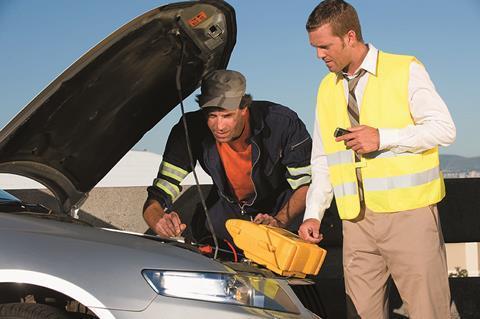 AXA Assistance car breakdown