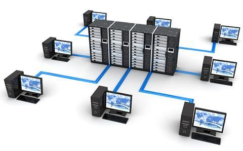 Database computer network