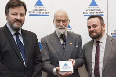 Carrot wins International Road Safety Award