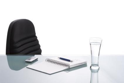 empty workstation productivity resignation termination work