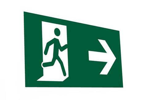 bigstock emergency exit sign 18508853