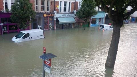 herne hill flood crispin sugden