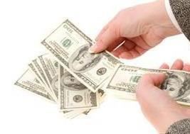 Money handover