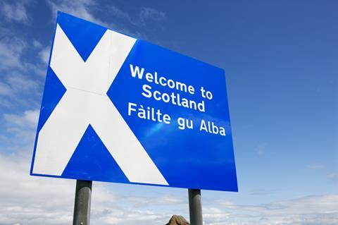 I stock welcome to scotland