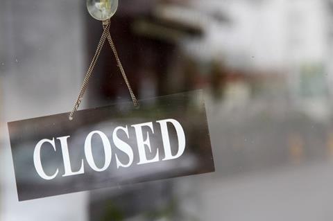 Ireland branch closures