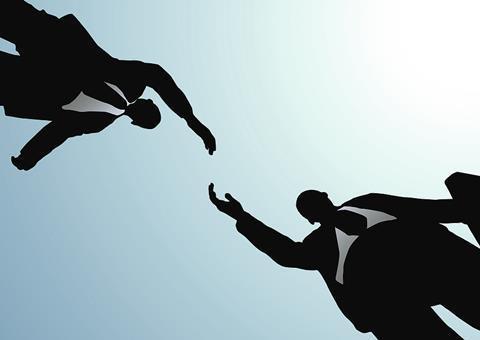 Business deal work handshake people