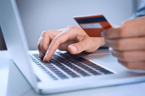 paying/buying online