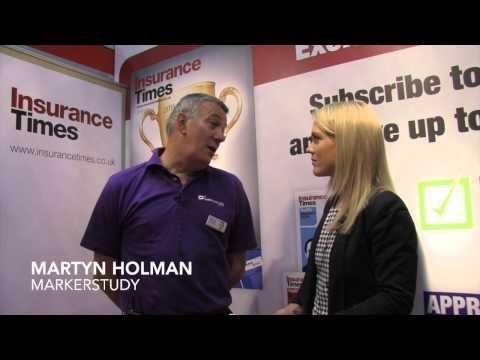 Jessica Reid meets Markerstudy's Martyn Holman at Biba 2015