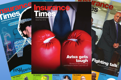 Insurance Times - insight in-depth