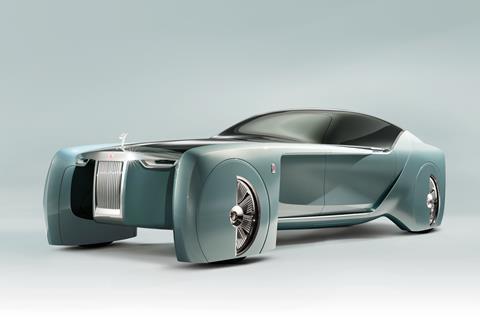 rolls royce driverless car