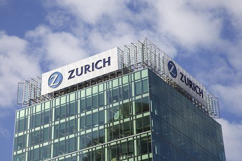 Zurich Uk Ceo Focuses On Continued Acceleration After Profits
