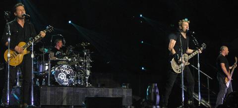 Nickelback in brisbane november 2012 here and now tour