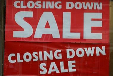 Closing down sale