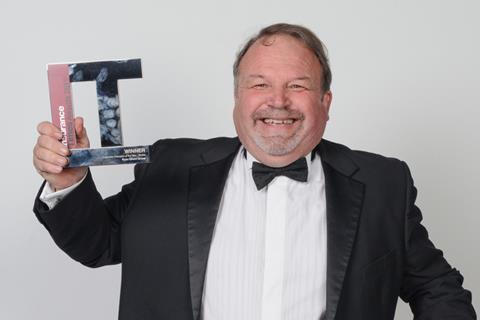 Insurance Times Awards Derek Coles