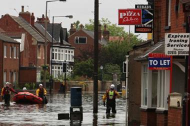 flood flooded shops