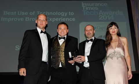 TechAwards 2014 Best Use of Technology to Improve Broker Experience: Staveley Head