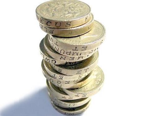 money coins pounds