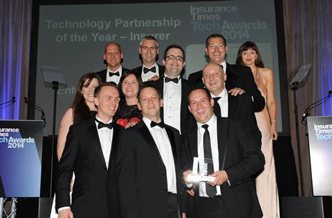 TechAwards 2014 Technology Partnership of the Year - Insurer: Enterprise Rent a Car