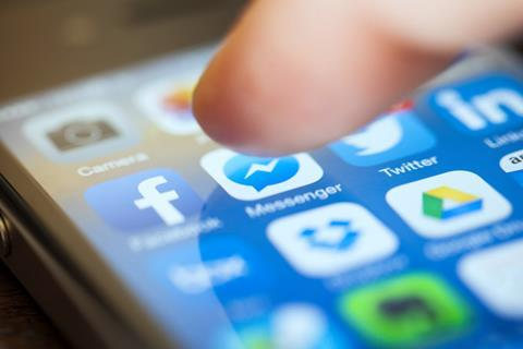 Facebook blocks Admiral
