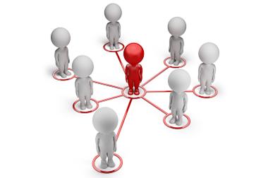 Network partner communication