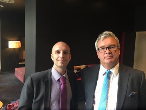 Covéa senior claims inspector Steve Godbold (l) and technical high net worth claims manager Jamie Kemp