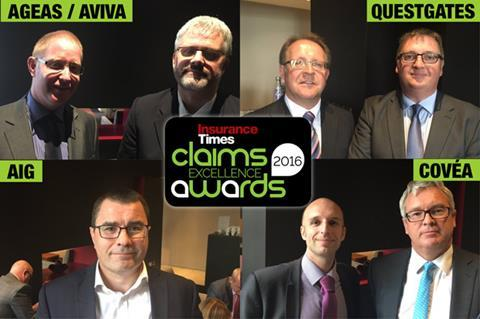 Ageas questgates Claims Awards