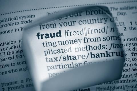 fraud dictionary