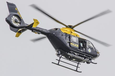 Police helicopter catches fraudster